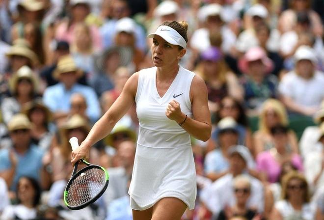 Serena dau Halep tai chung ket Wimbledon 2019 hinh anh 6