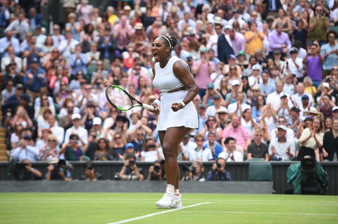 Serena dau Halep tai chung ket Wimbledon 2019 hinh anh 3