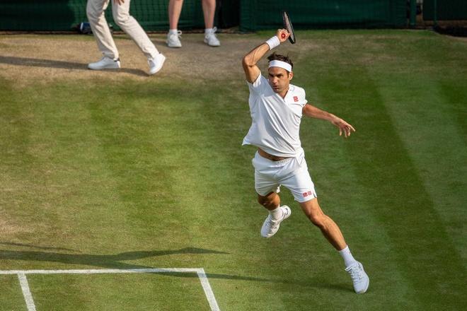 Roger Federer doi dau Nadal tai ban ket Wimbledon hinh anh 2