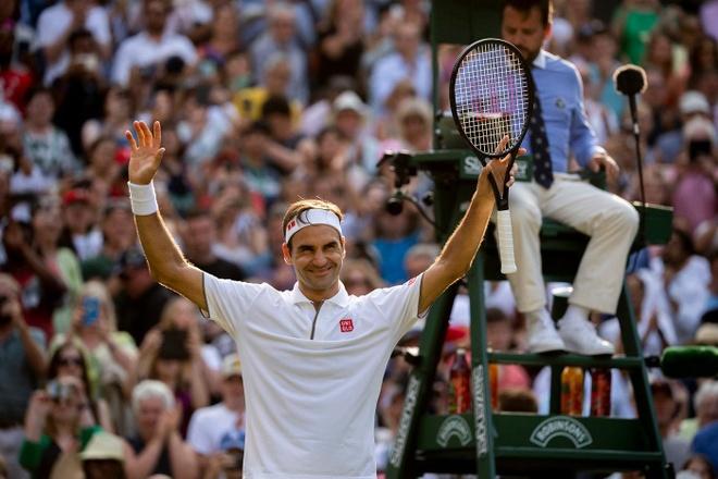Roger Federer doi dau Nadal tai ban ket Wimbledon hinh anh 4