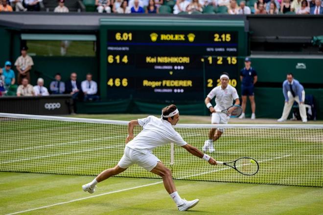 Roger Federer doi dau Nadal tai ban ket Wimbledon hinh anh 3