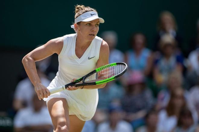 Serena dau Halep tai chung ket Wimbledon 2019 hinh anh 5
