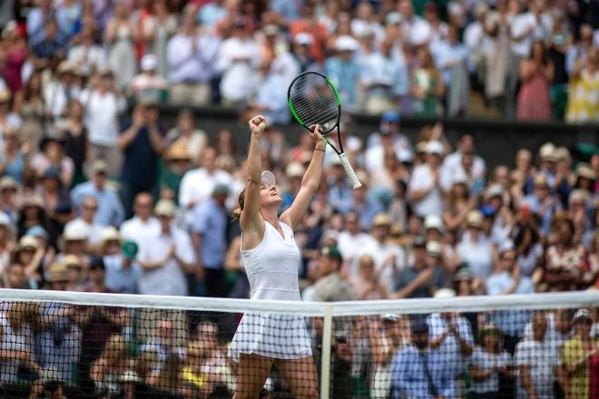 Serena dau Halep tai chung ket Wimbledon 2019 hinh anh 7