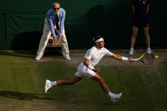 Roger Federer doi dau Nadal tai ban ket Wimbledon hinh anh 5