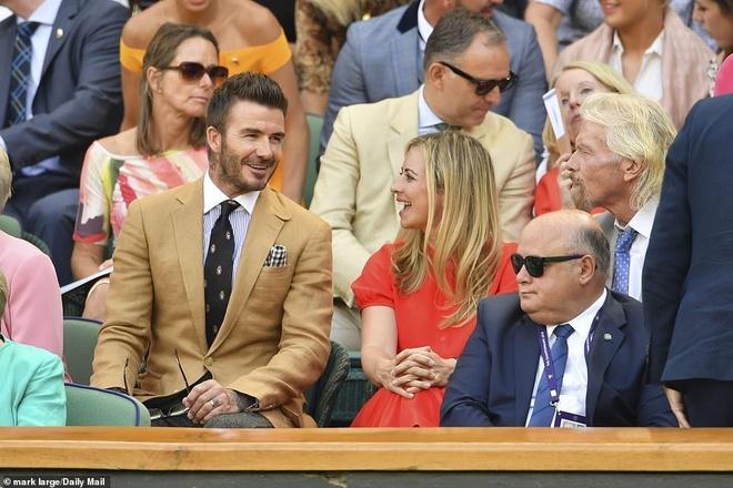 Beckham du Wimbledon anh 2