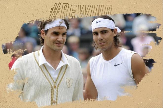 Chung ket kinh dien giua Federer va Nadal tai Wimbledon 2008 hinh anh