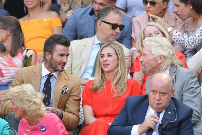 Beckham du Wimbledon anh 3