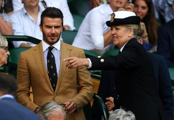 Beckham du Wimbledon anh 1