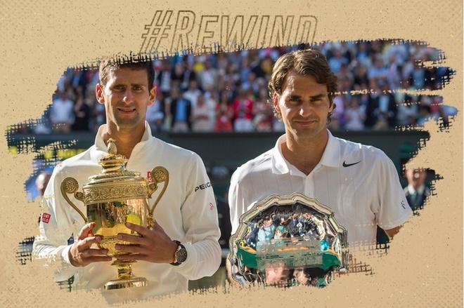 Djokovic tung 2 lan lien tiep khien Federer om han tai Wimbledon hinh anh