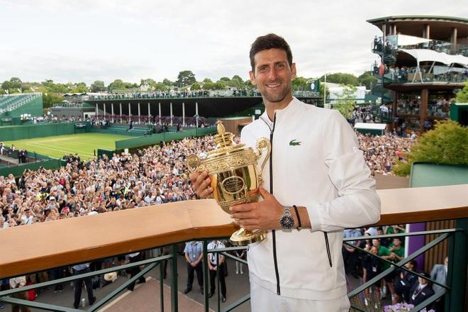 Djokovic vo dich Wimbledon anh 1