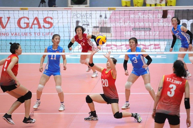 Bong chuyen nu U23 Viet Nam anh 2
