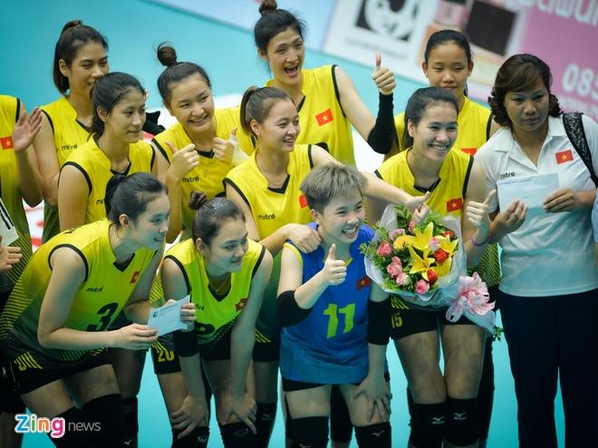 Thang Thai Lan, U23 Viet Nam gianh HCD giai bong chuyen nu chau A hinh anh 2