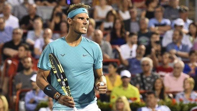 Nadal nguoc dong vao ban ket Rogers Cup hinh anh 1
