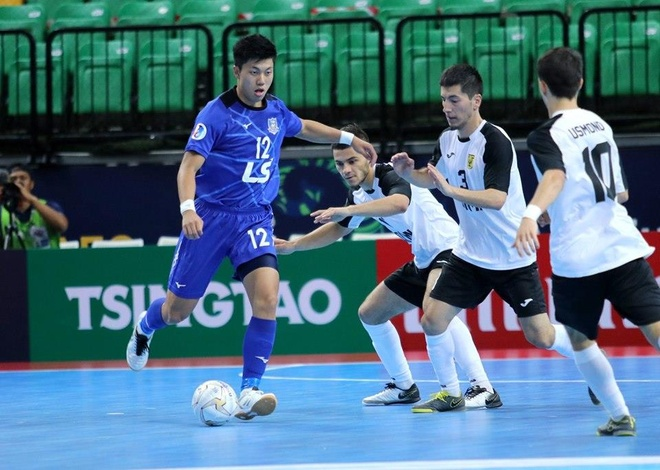 Cầu thủ của Thái Sơn Nam đoạt giải 'Vua phá lưới' futsal châu Á