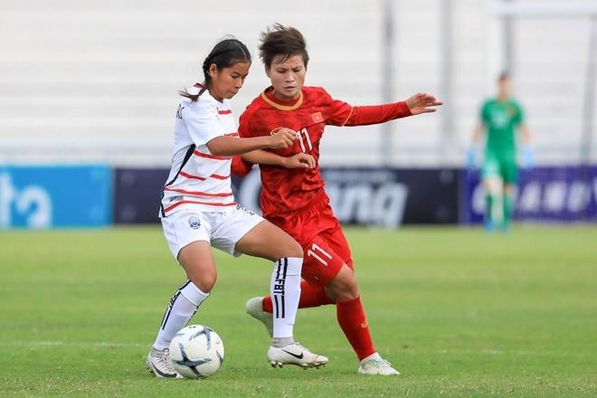 DT nu Viet Nam thang Myanmar 4-0, vao ban ket AFF Cup 2019 hinh anh 1