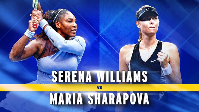 Serena gap Sharapova tai My mo rong anh 1