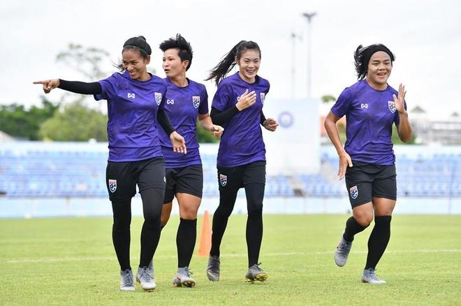 Tuyen nu Thai Lan tu tin danh bai Viet Nam vi tung du World Cup hinh anh 1