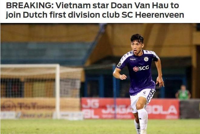 Bao ch.au A goi Van Hau la 'ngoi sao Viet Nam' thi dau tai Ha Lan hinh anh 1