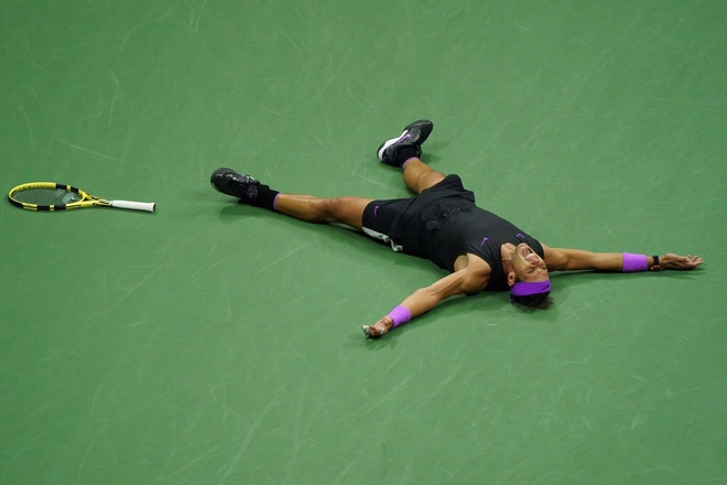 Nadal ap sat ky luc danh hieu Grand Slam cua Federer hinh anh 4