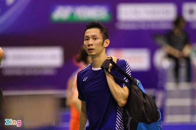 Tien Minh thang vong 1 Vietnam Open anh 2