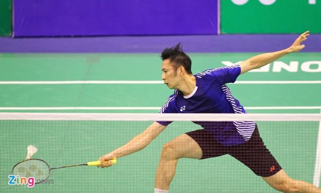 Tien Minh thang vong 1 Vietnam Open anh 1