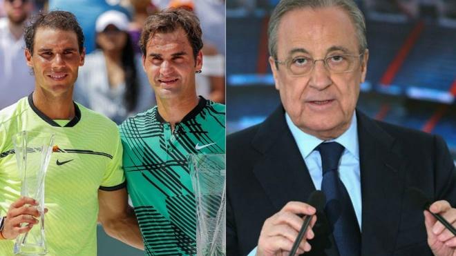 Nadal co the dau Federer tai Bernabeu de lap ky luc Guinness hinh anh 1