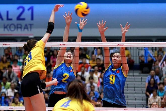 Viet Nam thua Thai Lan tai Giai bong chuyen ASEAN Grand Prix hinh anh 1