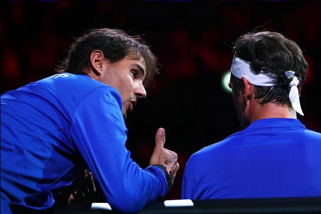 Nadal vao vai huan luyen vien cua Federer anh 1