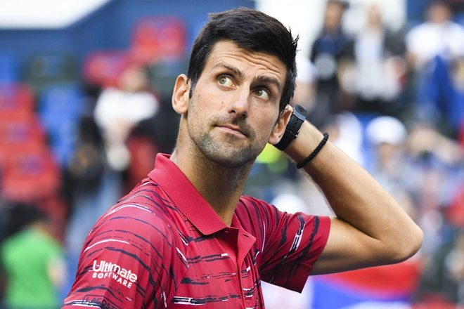 Tsitsipas bien Djokovic thanh cuu vuong tai Thuong Hai Masters hinh anh