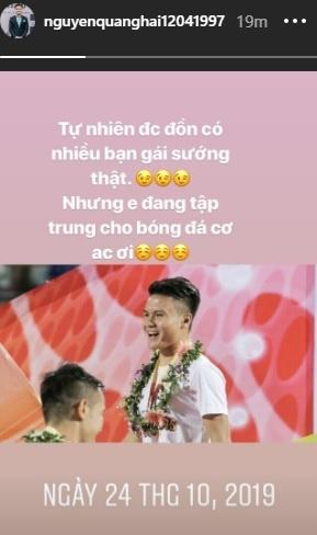 Quang Hai phu nhan tin don ban gai anh 1