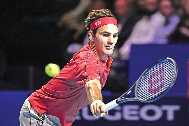 Federer lap ky luc khi vao chung ket Basel Open hinh anh 1