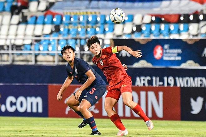 Viet Nam thang chu nha Thai Lan tai vong chung ket U19 nu chau A hinh anh 1