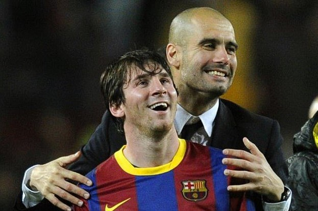 Guardiola khong tin Messi thanh cong khi lan dau gap mat hinh anh 1