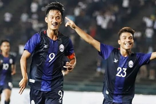 Highlights U19 Campuchia 2-1 Thai Lan hinh anh