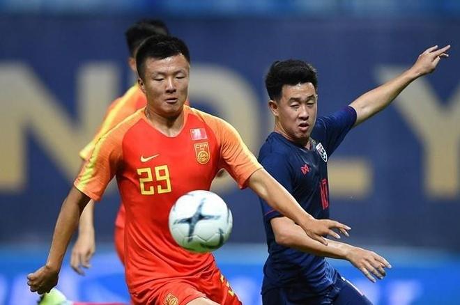 Highlights U23 Thai Lan 1-2 Trung Quoc hinh anh