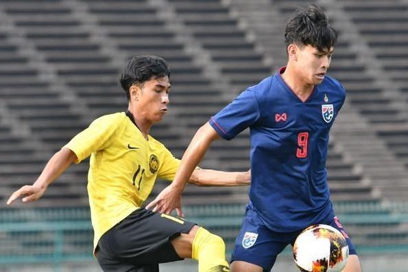 Highlights U19 Thai Lan 0-1 Malaysia hinh anh