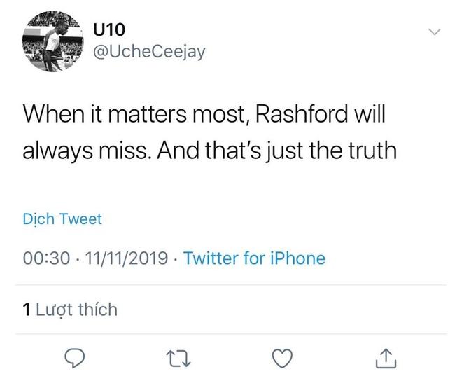 Rashford bi CDV che nhao sau pha bo lo kho tin truoc Brighton hinh anh 4