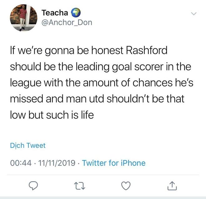 Rashford bi CDV che nhao sau pha bo lo kho tin truoc Brighton hinh anh 8