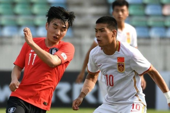 U19 Trung Quoc dung buoc o vong loai chau A hinh anh