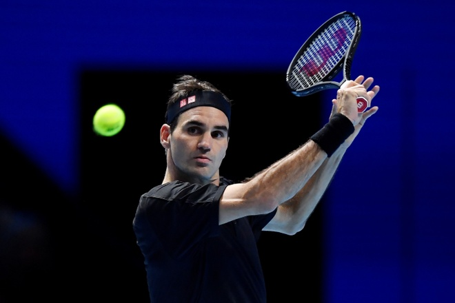 Federer loai Djokovic tai vong bang ATP Finals hinh anh 1