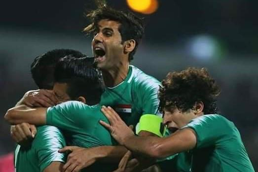 Iraq ha Iran 2-1 nho ban thang phut bu gio hinh anh