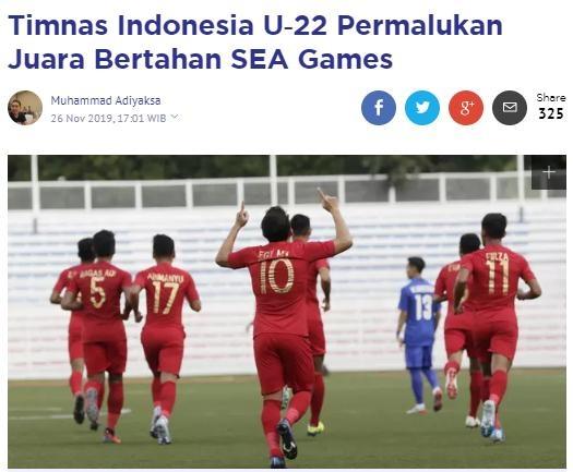 Bao Indonesia: 'U22 lam be mat nha vo dich SEA Games' hinh anh 1