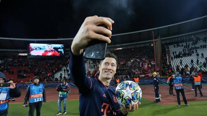 Lewandowski san bang ky luc cua Messi sau tran Bayern thang 6-0 hinh anh 2