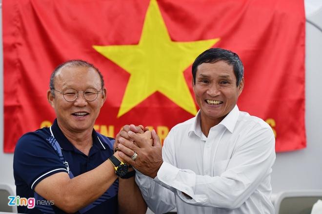 Thay Park, HLV Mai Duc Chung than thiet sau ky SEA Games lich su hinh anh 1
