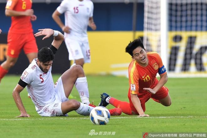 U23 Trung Quoc vs Iran anh 1