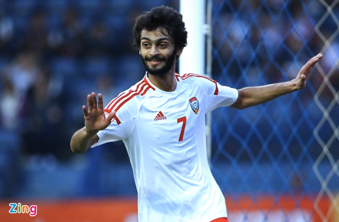 U23 Trieu Tien bi loai sau tran thua 0-2 truoc UAE hinh anh 1 14_zing.jpg