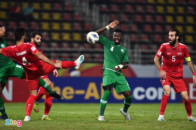 U23 Saudi Arabia va Syria dat tay nhau vao tu ket hinh anh 1 13_zing.jpg