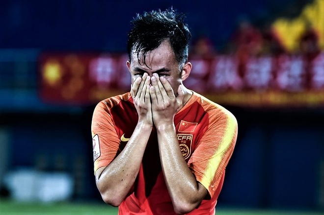 U23 Trung Quốc òa thất bại tại giải châu Á