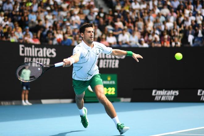 Djokovic lan thu 11 vao tu ket Australian Open hinh anh 1 nole.jpg