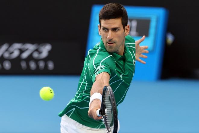 Ha Raonic, Djokovic gap Federer tai ban ket Australian Open hinh anh 1 Nole1.jpg